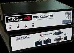 WHOZZ CALLING? POS 4 (BASIC) - SERIAL PORT - BNIB W/Warranty - Caller Id Unit-
