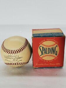 Warren Giles Spalding 1952-1957 National League Baseball New In Box RARE WOW