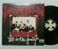 Lordz of Brooklyn - All In The Family LP 1995 US ORIG Everlast House of Pain RAP