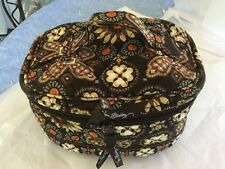 VERA BRADLEY RETIRED PATTERN CANYON ROUND ZIPPERED HOME & AWAY TRAVEL CASE