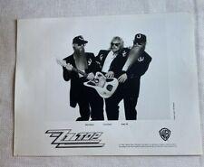 Vintage ZZ Top Photo Billy Gibbons, Frank Beard, Dusty Hall 8 X 10  N 71