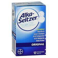 Alka-Seltzer Original Effervescent Antacid Tablets 12 t