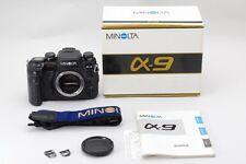 Minolta α-9 Alpha 9 / Dynax 9 / Maxxum 9 /35mm SLR Film Camera【Near Mint】 #86