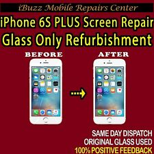 "Apple iPhone 6S Plus 5.5"" Glass Screen Digitiser Repair REFURBISHMENT Service"