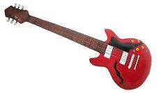Rouge Guitare rock métal art mural Adapté intérieur et extérieur usage 112 cm