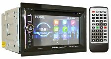 "Power Acoustik Double Din CD DVD 2Din In-Dash 6.5"" Bluetooth Car Stereo PD-623B"