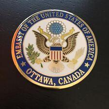 EMBASSY US American OTTAWA CANADA Ambassador David Jacobson Challenge Coin