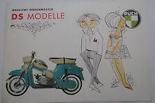 Prospekt Werbung von 1965 Steyr Daimler PUCH DS 50 DSR Kleinroller Oldtimer