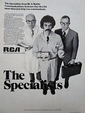4/1972 PUB RCA MOBILE COMMUNICATIONS SYSTEMS ORIGINAL AD