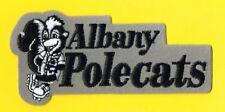 ALBANY POLECATS MINOR LEAGUE BASEBALL TEAM EMBLEM PATCH