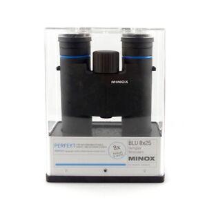 A056 Messe Aussteller Minox BLU 8x25 Fernglas 62062 wasserdicht mit Zubehör