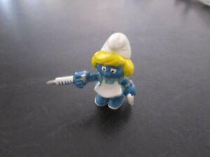 Smurfs Nurse Smurfette Smurf Rare (e)