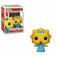"THE SIMPSONS MAGGIE SIMPSON 3.75"" POP TV VINYL FIGURE FUNKO 498"
