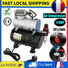 Compresseur aérographe 1/6 HP avec réservoir 20-23 L/min 1450/1750 r.p.m EU 220V
