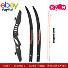 Archery Recurve Bow Set for Adults Beginner 20 lbs Hunting Takedown Long Bow Kit