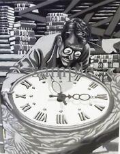 TWILIGHT ZONE TIME ENOUGHT AT LAST MR. BEMIS VINTAGE STYLE TV SHOW ART PRINT 1