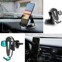 360° Gravity Auto Holder Air Vent Dashboard Mount Stand For Cell Phone Universal