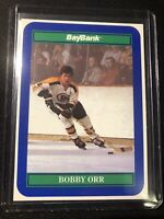 Bobby Orr [10 lot] 1991-92 BayBank  #2,boston bruins  Promo  Card gem mint ,nice