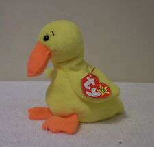 """TY BEANIE BABIES COLLECTION   """"QUACKERS""""   DUCK"""