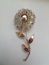 Retro Vintage Estate Gioielli AURORA BOREALE Daisy Spilla Pin-molto bello.