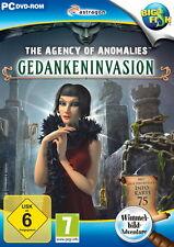 THE AGENCY OF ANOMALIES * GEDANKENINVASION * WIMMELBILD-SPIEL  PC DVD-ROM