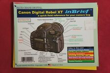 Canon Blue Crane Digital Rebel XT in Brief a Quick Field Reference Guide Manual