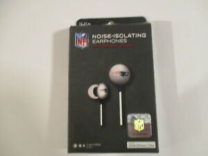 NEW ENGLAND PATRIOTS NOISE ISOLATING EAR PHONES