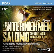 Pidax Hörspiel Klassiker - Unternehmen Salomo oder Drei Mann und auch der Tod