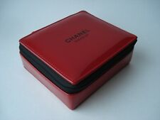 CHANEL   makeup bag cosmetic case small  red   VIP gift