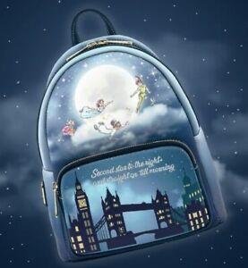 Sac A Dos BACKPACK PETER PAN PAN SECOND STAR Loungefly Neuf Disney