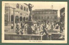 Marche. FANO. Pesaro - Urbino. Piazza XX Settembre. Cartolina viaggiata 1923.