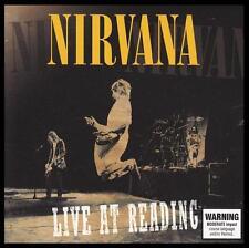 NIRVANA - LIVE AT READING CD Album ~ KURT COBAIN~DAVE GROHL ~ 90's GRUNGE *NEW*