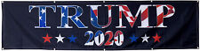 Donald Trump 2020 Keep America Great American flag 2x8ft banner US Shipper