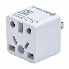 ROAD WARRIOR US Travel Plug Adapter EU/UK/CN/AU/IN to USA Type A-RW111WH-US