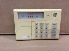 FBII Honeywell Ademco Fire Burglary Alarm F6615 LED KEYPAD - Yellowed