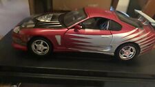 TOYOTA SUPRA 1995 THE FAST AND THE FURIOUS 1:18 NUOVA ✔️