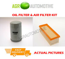 PETROL SERVICE KIT OIL AIR FILTER FOR ROVER 414 1.4 95 BHP 1993-95