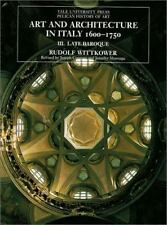 Art and Architecture in Italy 1600-1750, Vol. 1: Early Baroque (Yale University