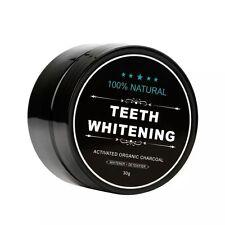 Polvo de blanqueamiento de dientes Natural Orgánico de Bambú Carbón Activo Dentífrico
