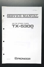 PIONEER TX-5300 Original Service-Manual/Service-Anleitung/Schaltplan!