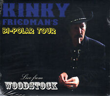 Bi-Polar Tour: Live from Woodstock CD - Kinky Friedman - Country/Americana 2012