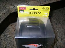 Sony LCJ-HA Leather Jacket Case for DSC-H1