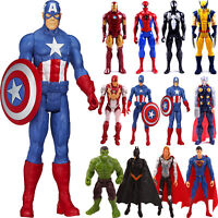 12'' Marvel Avengers Spider-Man Super Hero Action Figure Xmas Toys Kid Christmas