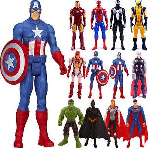 Gifts Marvel Avengers Super Hero Spiderman Captain Wolverine Action Figure Toys