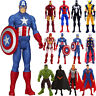 Marvel Avengers Superhero Spiderman THOR Captain Wolverine Action Figure Kid Toy
