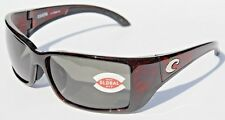 COSTA DEL MAR Blackfin 580 POLARIZED Sunglasses Tortoise/Gray 580G Global Fit