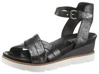 Arizona Sandalette im Metallic-Look, Gr.39, Leder