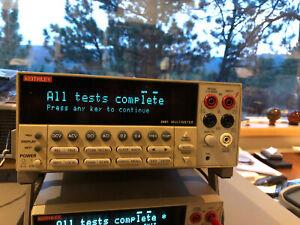 Keithley 2001 Multimeter #2 Excellent Condition-Guaranteed
