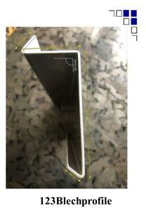 Ortgangblech Typ 4 Verkleidungsblech Ortgang Dachabschluss Ortgangwinkel 1m+1,5m