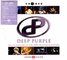 DEEP PURPLE live in concert at the 2006 montreux  CD + DVD NEU